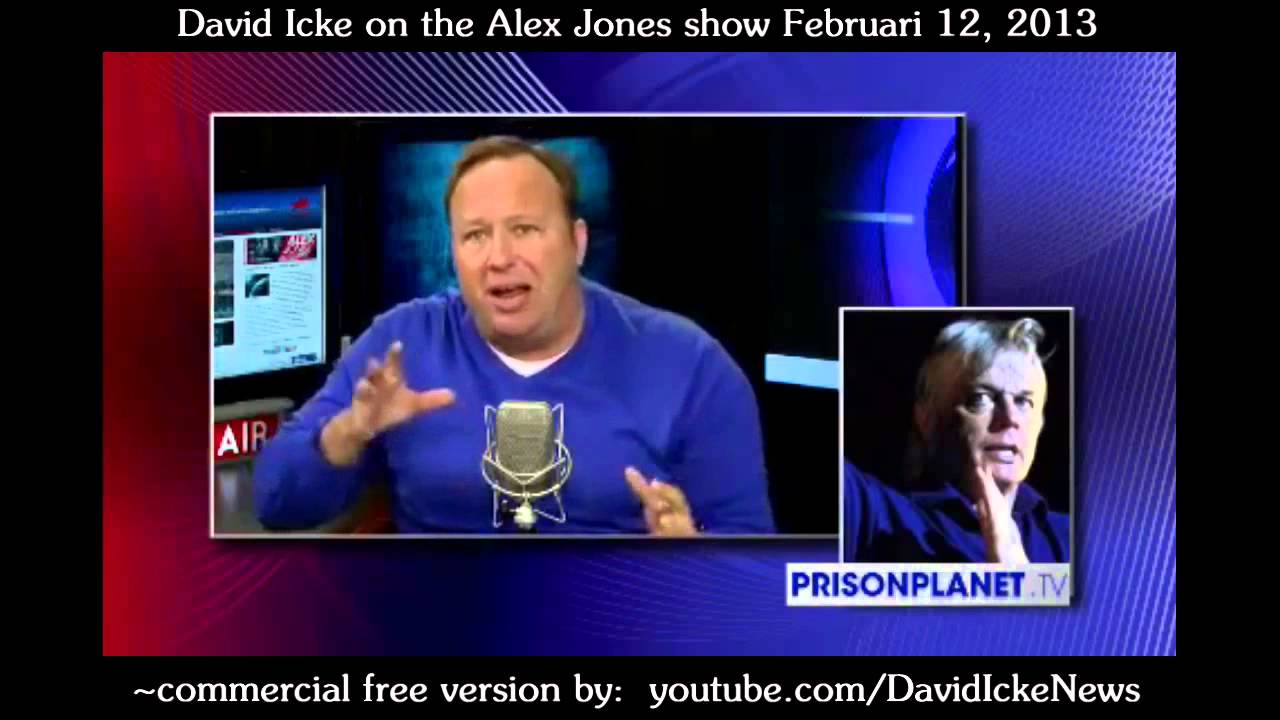 New David Icke Full Interview 2-12-2013 Commercial Free! Alex Jones Radio Show HD