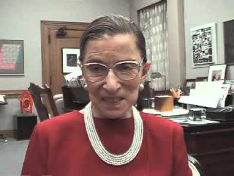 Justice Ruth Bader Ginsburg, Supreme Court of the United States (Washington, D.C.): Plain English