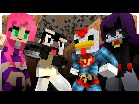 Teen Titans Prank The Atlantic Craft! (Minecraft Roleplay)
