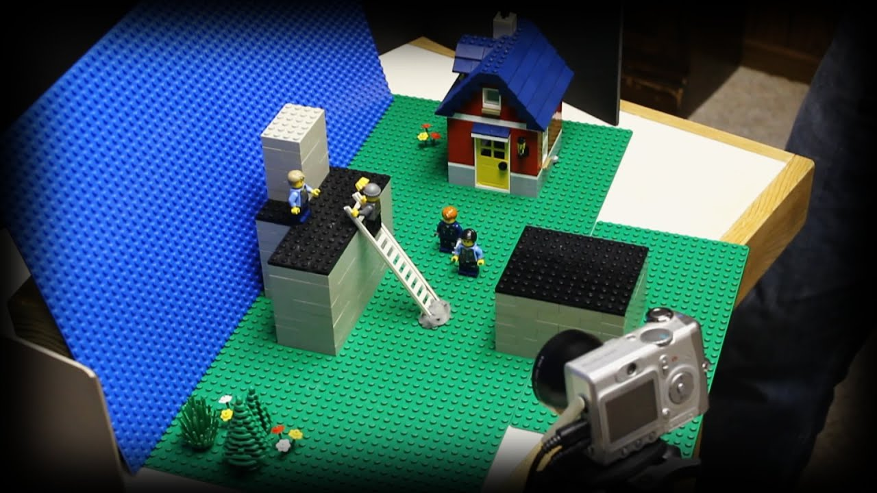 how to do stop motion lego