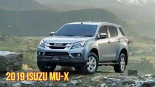 2019 Isuzu MU X significantly changes