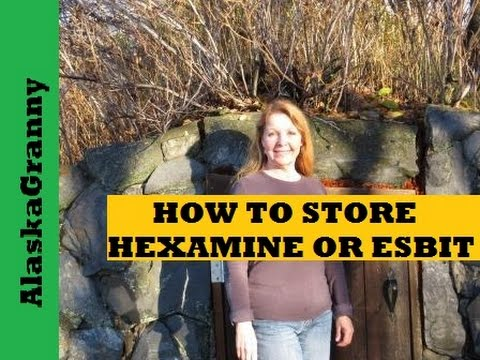 How To Store Hexamine Or Esbit Fuel Tablets Emergency Cooking