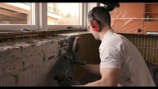 Fjerne fliser i køkken og puds af væg / Gør det selv / Byglet.dk