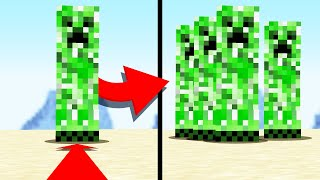 Minecraft but mobs MULTIPLY when you're close
