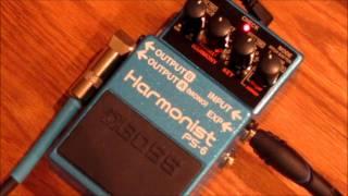 Boss PS-6 Harmonist Detune
