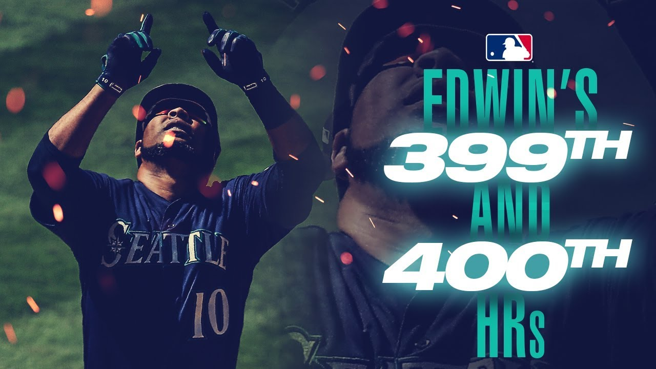 Edwin Encarnacion reaches milestone in L.A.