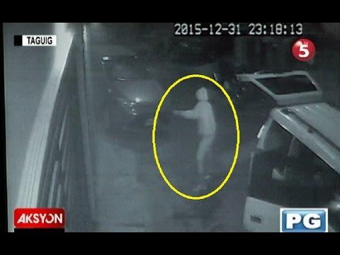 Sapul sa CCTV | Bahay ng dating pulis sa Taguig city, pinagbabaril