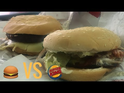 Burger King Venezuela vs. hamburguesa callejera