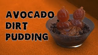 Avocado Dirt Pudding For Halloween!! - Ep. 6