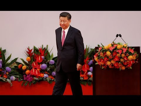 China president warns HK residents not to threaten national security