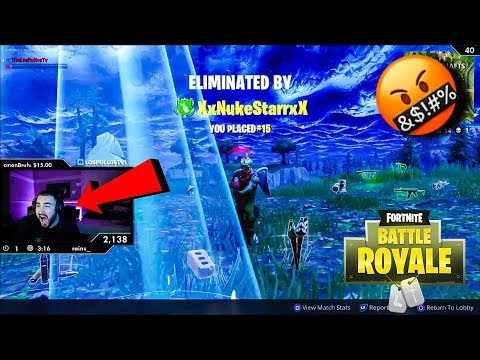 LosPollosTv Fortnite Rage At An All Time High (Daily Fortnite Highlights #28)