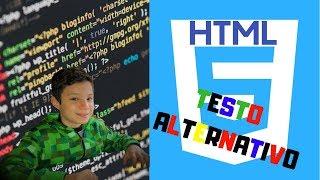 HTML base - Testo Alternativo