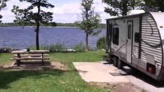 Site 29 Gun Cręek campground at Rend Lake