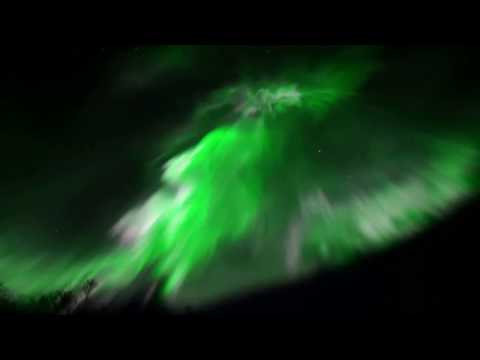 Beautiful Corona , Fast moving Northern Lights Aurora Borealis Live video sony a7s  Tromso, Norway