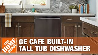 Ge Cafe Built-in Tall Tub Dishwasher - The Home Depot