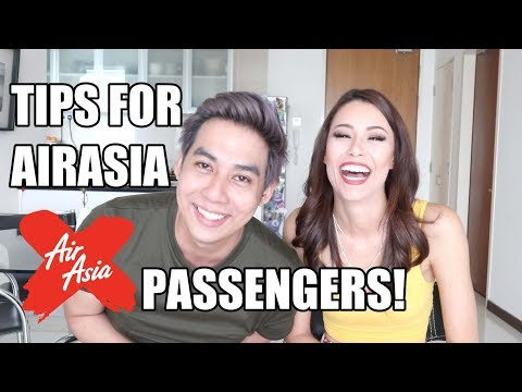 Tips For Travelling With AirAsia X (Low Cost Airlines)