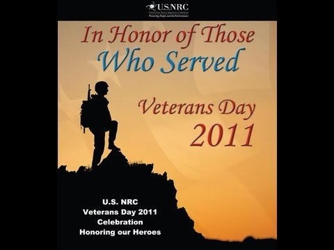 NRC Celebrates Veterans Day