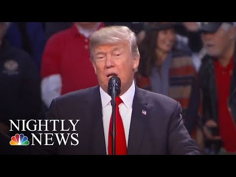President. Donald Trump Records Robocall For Roy Moore   NBC Nightly News