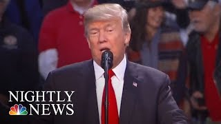 President. Donald Trump Records Robocall For Roy Moore | NBC Nightly News