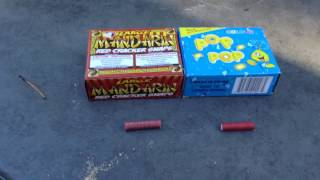 Pop Pop's VS Mandarin Crackers