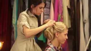 Свадебная прическа на длинные волосы SVADBA-BS.ru(, 2012-07-12T14:26:52.000Z)