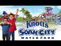 Knott's Soak City (New Slides Shore Break & The Wedge): Traveling with Kids