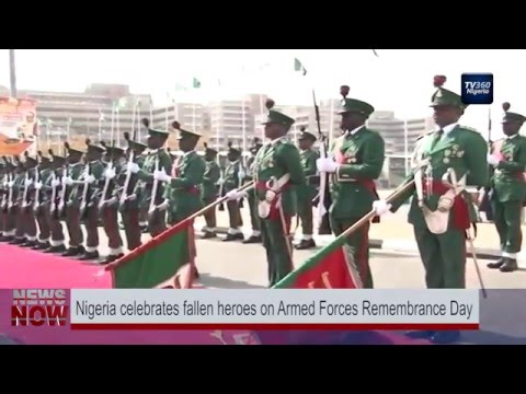 Nigeria celebrates fallen heroes on Armed Forces Remembrance Day
