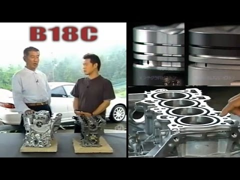 [ENG CC] B18C Engine in depth view with Spoon CEO 2001