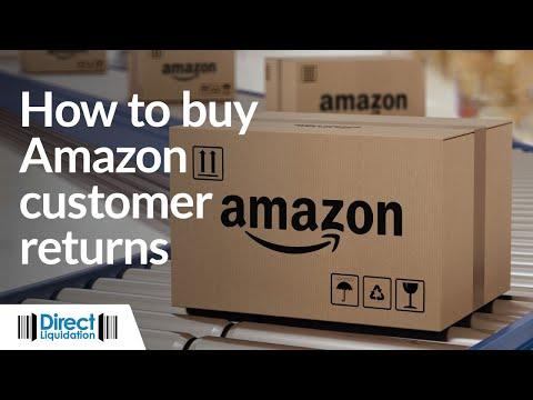 How to Buy Amazon Customer Returns Pallets Online