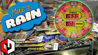 1500 RAP DF RE CHALLENGE  The Wizard Of Oz Coin Pusher Arcade Game