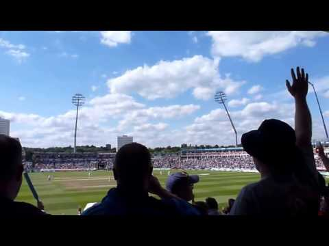 'Stand Up, If You're 2 1 Up' Incredible atmosphere at Edgbaston
