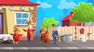 Video Drei Chinesen mit dem Kontrabass - Kinderlieder download MP3, 3GP, MP4, WEBM, AVI, FLV November 2017