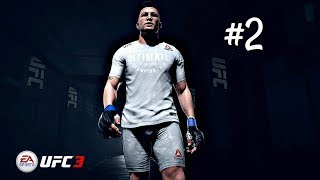 EA Sports UFC 3 Career Mode Part 2 - UFC Debut | Xbox One Gameplay