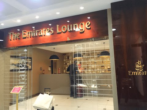 The Emirates Lounge First/Business class Milan Malpensa Airport