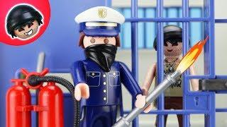 Playmobil Polizei Film - Toni bricht ins Gefängnis ein - Karlchen Knack #137