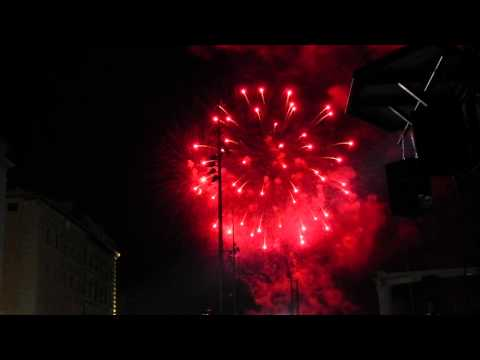 Bastille Day Celebrations at Vieux Post, Marseille, 2013
