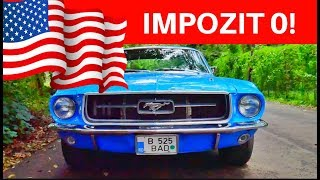 ASA EVITI IMPOZITUL IN ROMANIA! MOTOR 5.8?! Ford Mustang 1967 GT