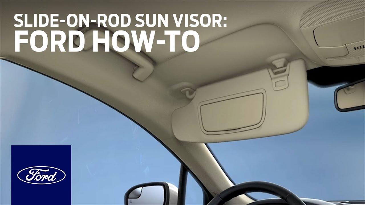 Slide-On-Rod Sun Visor  fb45751b209