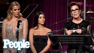 Khloé Kardashian, Kris Jenner & Family Attend Angel Ball Without Sister Kim | People NOW | People