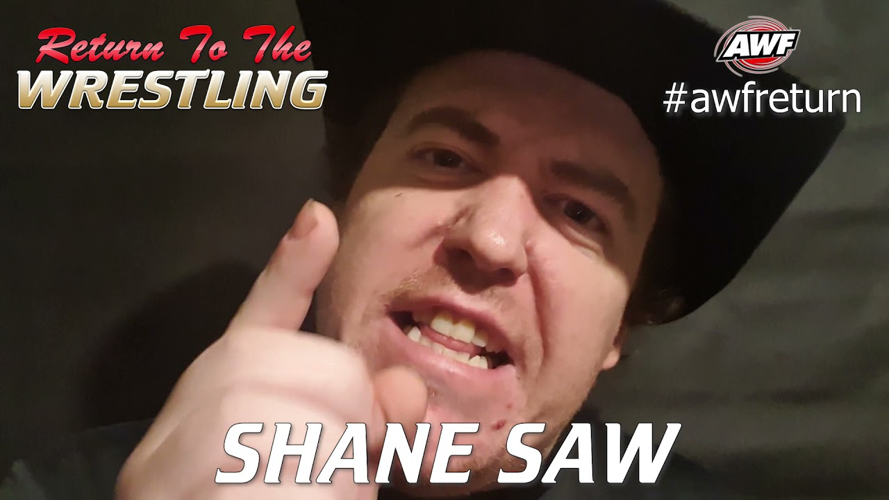 Shane Saw psyched to massacre Fergus Ferguson in Anything Goes Bout at AWF Return in Marrickville