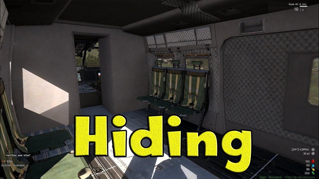 Arma 3 - Hiding In The Back of Cars on Wasteland (Stratis) - HD 1080p