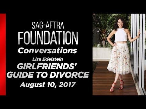Conversations with Lisa Edelstein of GIRLFRIENDS' GUIDE TO DIVORCE