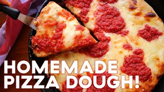How To Make The Best NYC Pizza Dough At Home | By June