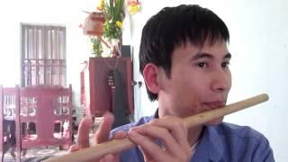 Bài Trường Sơn Đông Trường Sơn Tây- Hướng dẫn thổi sáo trúc Cao Trí Minh