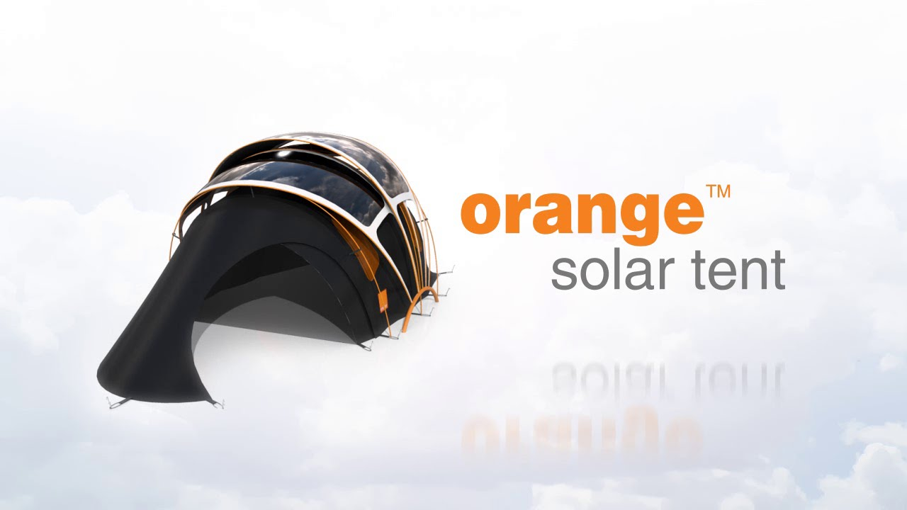 sc 1 st  YouTube & Orange Solar Tent - Product Design Concept - YouTube