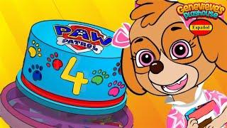 ¡Cumpleaños de Skye! ¡Aprende los Colores con Video Educativo para Niños!