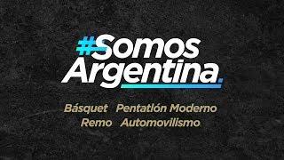 #SomosArgentina – Hoy Básquet, Pentatlón Moderno, Remo, Automovilismo.