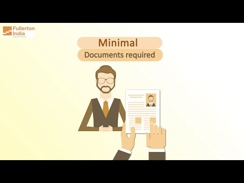 Get A Personal Loan With Less / Minimal Documents From Fullerton India