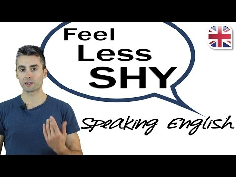 How to Feel Less Shy Speaking English - Improve English Speaking Confidence Now!