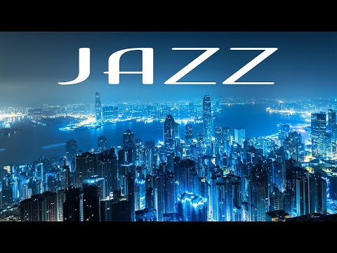 Excellent Night JAZZ Playlist - Elegant Piano JAZZ &  Lights of Night City - Night Traffic JAZZ